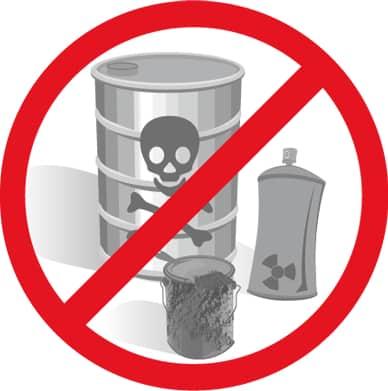 chemisch verwijderen van boomstronken is milieuvervuilend